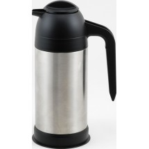 Winco VSS-24 Stainless Steel Insulated Coffee/Cream Server 24 oz.