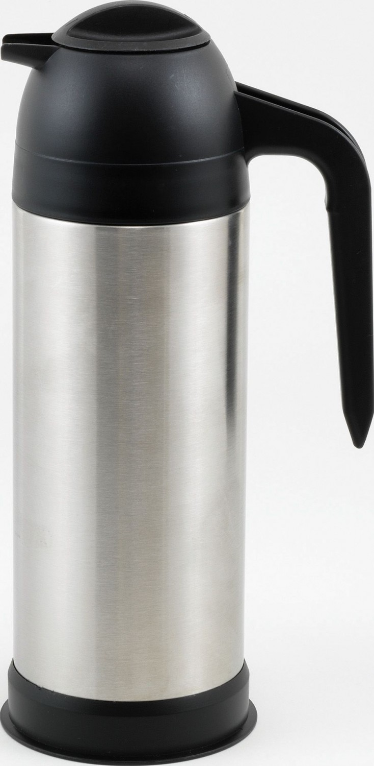 Winco VSS-33 Stainless Steel Insulated Coffee/Cream Server 33 oz.