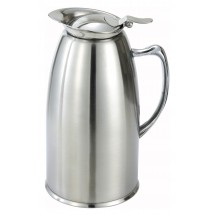 Winco VSS-508 Stainless Steel Lined Beverage Server 20 oz.