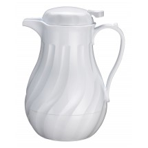 Winco-VSW-42W-42-oz--White-Beverage-Server