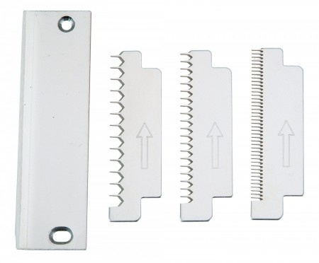 Winco VTS-3GBS 3-Piece Serrated Blade Set for VTS-3G