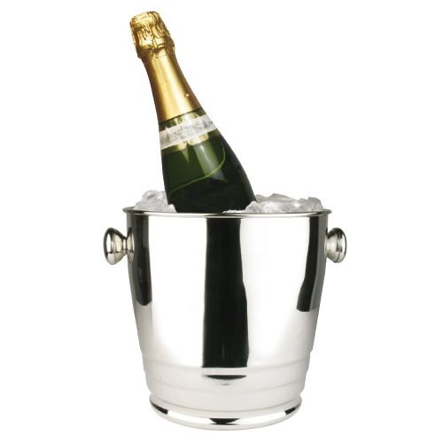 Winco WB-4HV Stainless Steel Deluxe Wine Bucket 4 Qt.