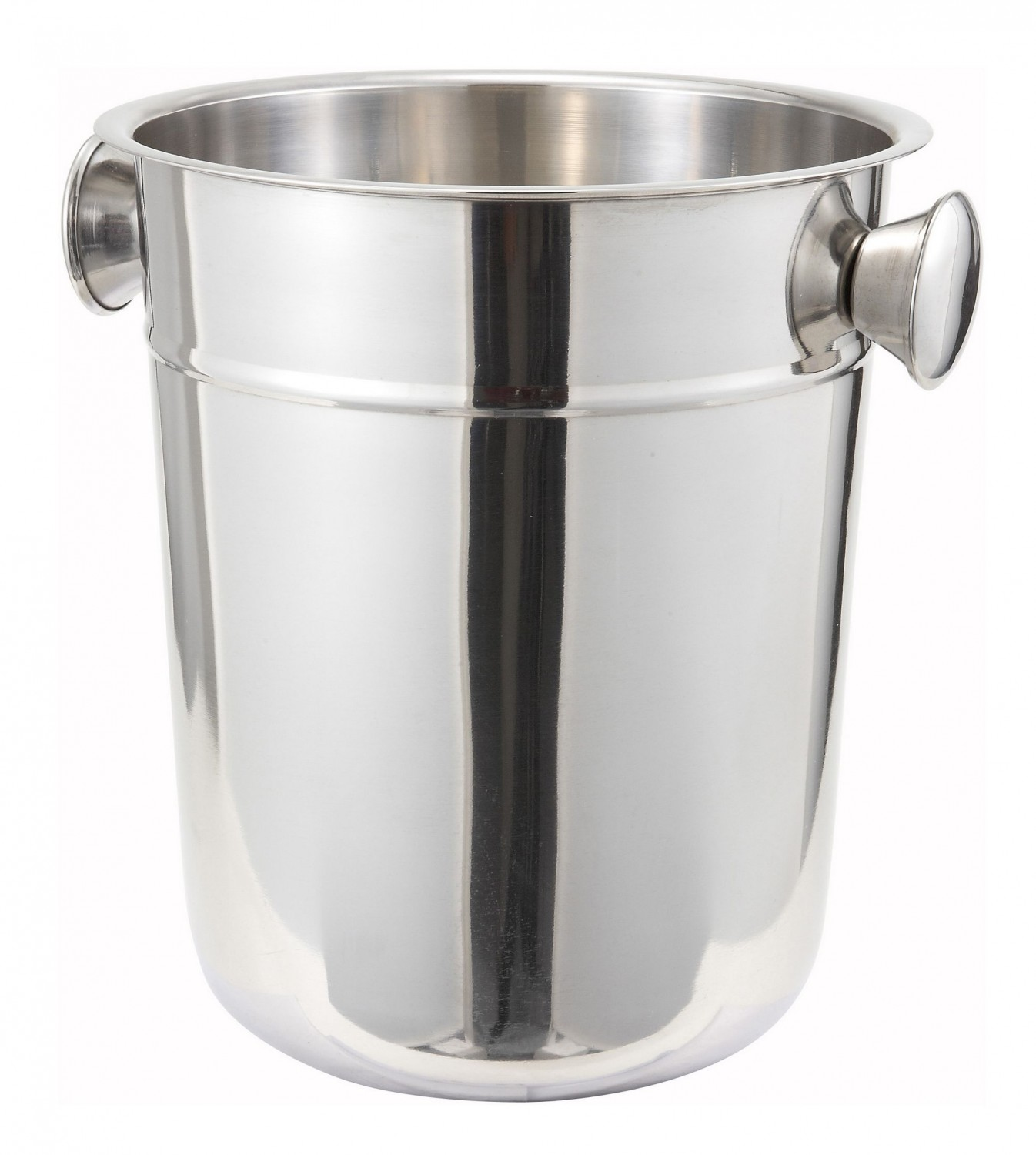 Winco WB-8 Stainless Steel Wine Bucket 8 Qt.