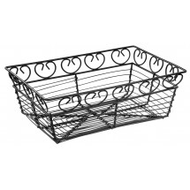 Winco WBKG-9 Rectangular Bread/Fruit Basket