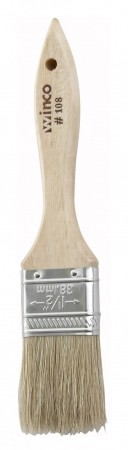 """Winco WBR-15 Wide Flat Pastry Brush 1-1/2"""""""