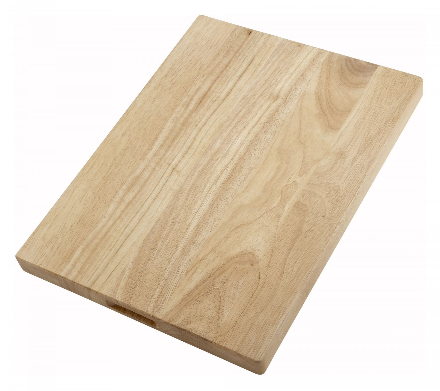 "Winco WCB-1218 Wooden Cutting Board 12"" x 18"" x 1-3/4"""