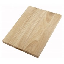 "Winco WCB-1520 Wooden Cutting Board 15"" x 20"" x 1-3/4"""