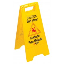 Winco WCS-25 Wet Floor Caution Sign