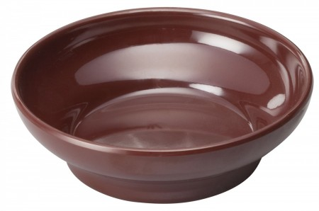 Winco WDM008-501 Ardesia Mila Brown Melamine Salsa Bowl 4 oz.