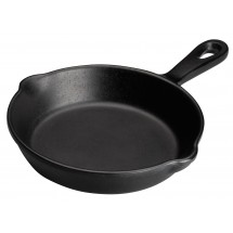 Winco WDM010-301 Ardesia Arlo Black Melamine Mini Pan 6-1/4""