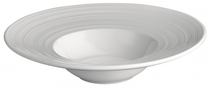 Winco WDP022-101 Ardesia Zendo Porcelain Bright White Bowl 7-1/4""
