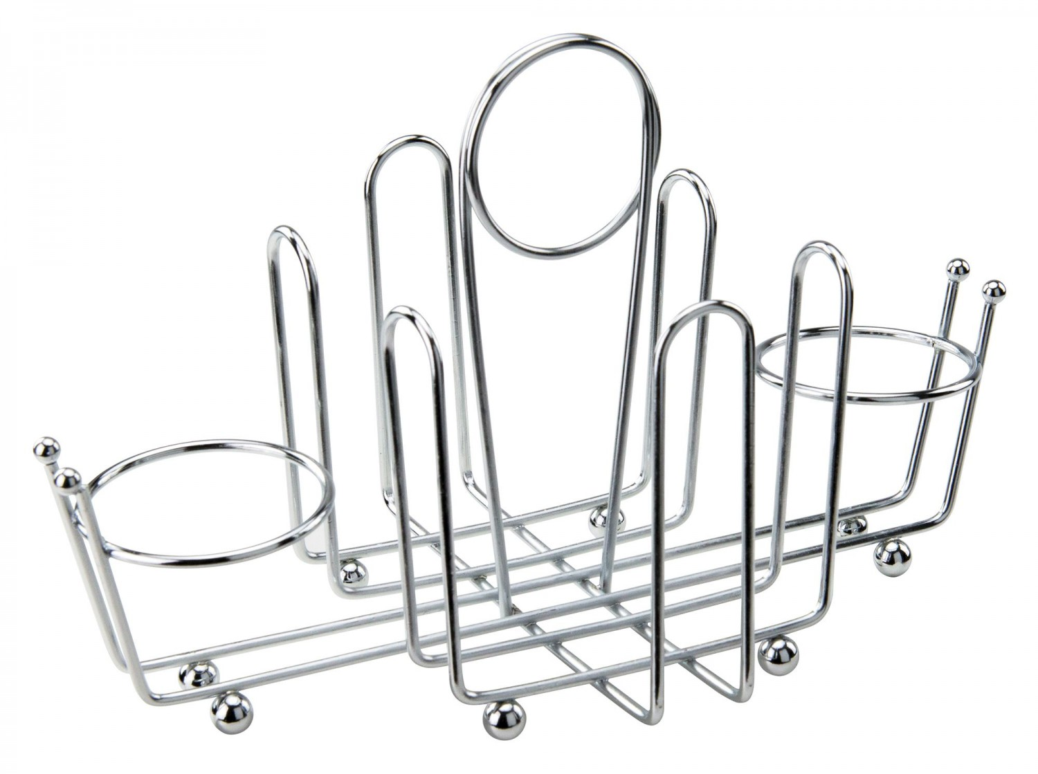 Winco WH-1 Chrome-Plated Condiment Holder