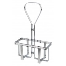 Winco WH-5 Square Oil and Vinegar Cruet Rack