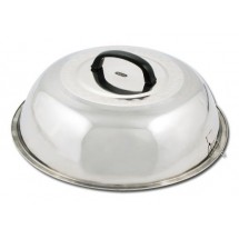 Winco WKCS-14 Stainless Steel Wok Cover