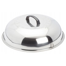 Winco WKCS-15 Stainless Steel Wok Cover
