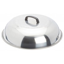 Winco WKCS-18  Stainless Steel Wok Cover