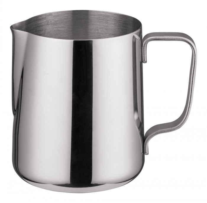 Winco WP-14 Stainless Steel Frothing Pitcher 14 oz.
