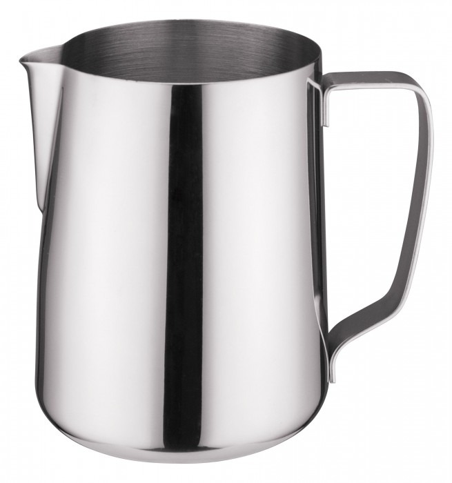 Winco WP-50 Stainless Steel Frothing Pitcher 50 oz.