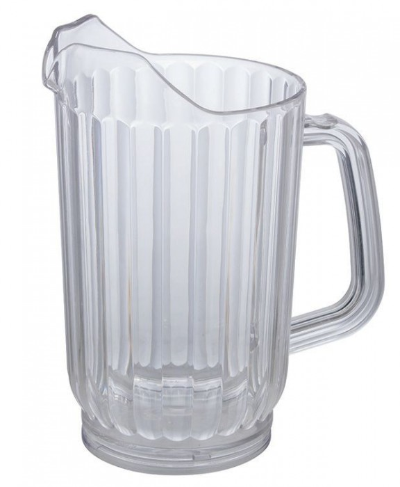 Winco WPC-32 Clear Water Pitcher 32 oz.