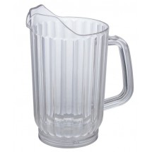 Winco-WPC-48-Clear-Plastic-Water-Pitcher-48-oz---
