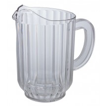 Winco WPC-60 Clear 60 Oz. Water Pitcher