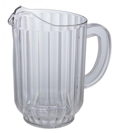 Winco WPC-60 Clear Water Pitcher 60 oz.