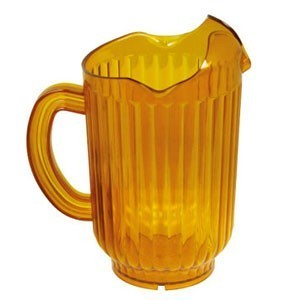 Winco WPCT-60 Polycarbonate Water Pitcher 60 oz.