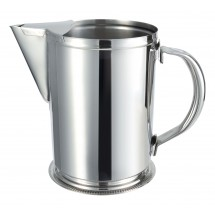 Winco WPG-64 Stainless Steel Water Pitcher With Guard 64 oz.