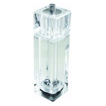 Winco WPMP-6 Clear Acrylic Pepper Mill / Salt Shaker 6""
