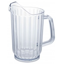 Winco WPS-32 Plastic Water Pitcher 32 oz.