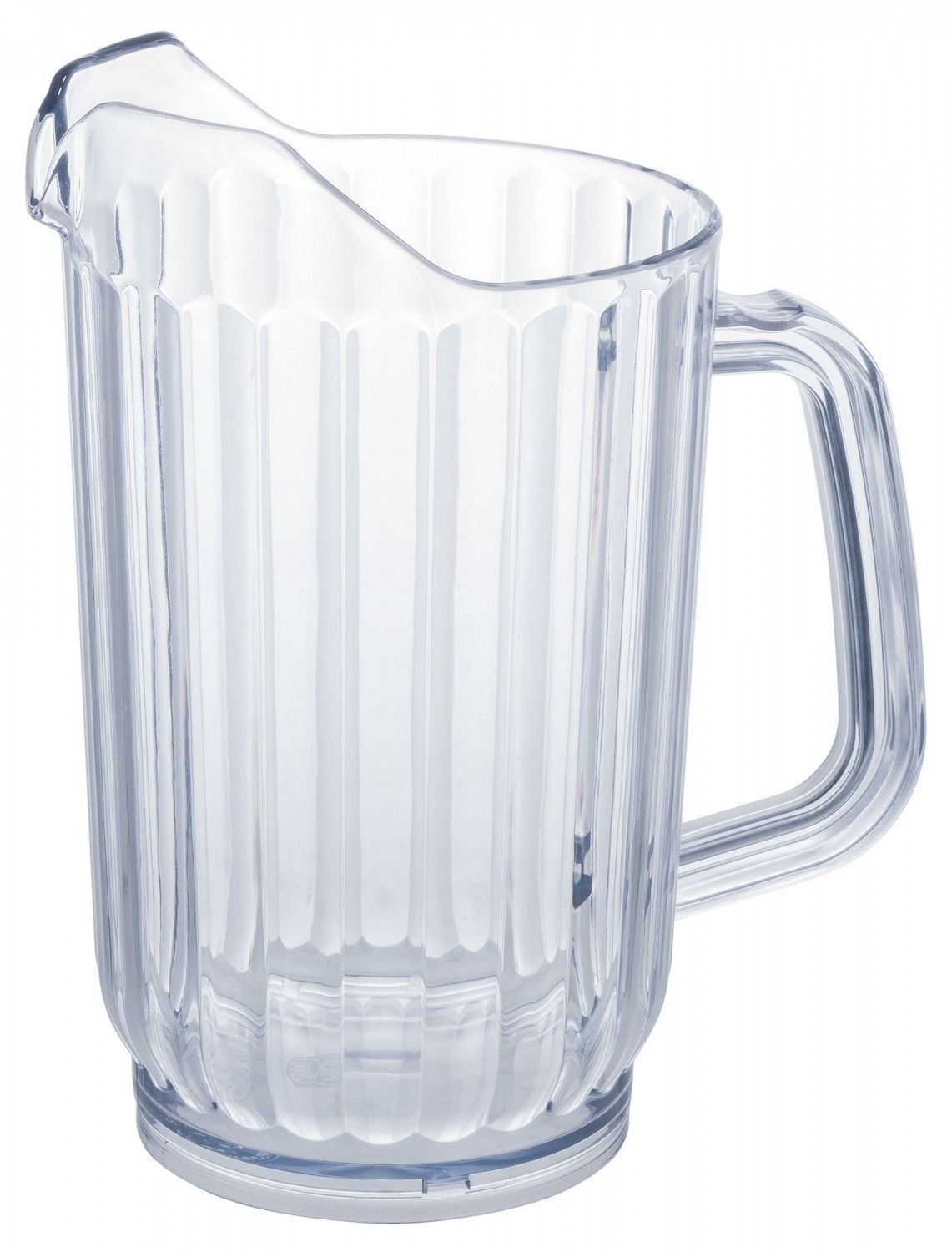 Winco WPS-32 Clear Plastic Water Pitcher 32 oz.