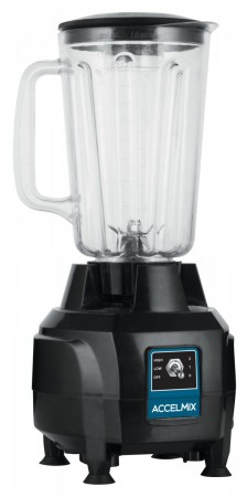 Winco XLB-44 AccelMix Commercial Electric 2-Speed Blender 44 oz.