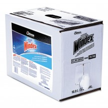 Windex Glass Cleaner with Ammonia 5 Gal Bag-in-Box Dispenser