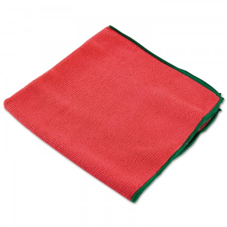WypAll Reusable Microfiber Cloths, Red, 15 3/4