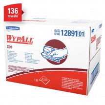 Wypall X90 Industrial All Purpose Wipers, 136 Wipers/Carton