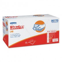 """Wypall L40 Professional Towels, White, 12"""" x 23"""", 540 Towels/Carton"""