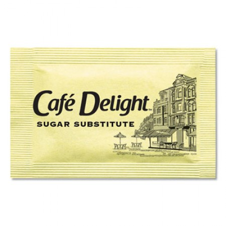 Yellow Sweetener Packets, 0.08 g Packet, 2000 Packets/Box