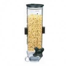 Zevro WM100 Spartspace Single 13 oz. Wall Mount Dry Food Dispenser - 1/2 doz